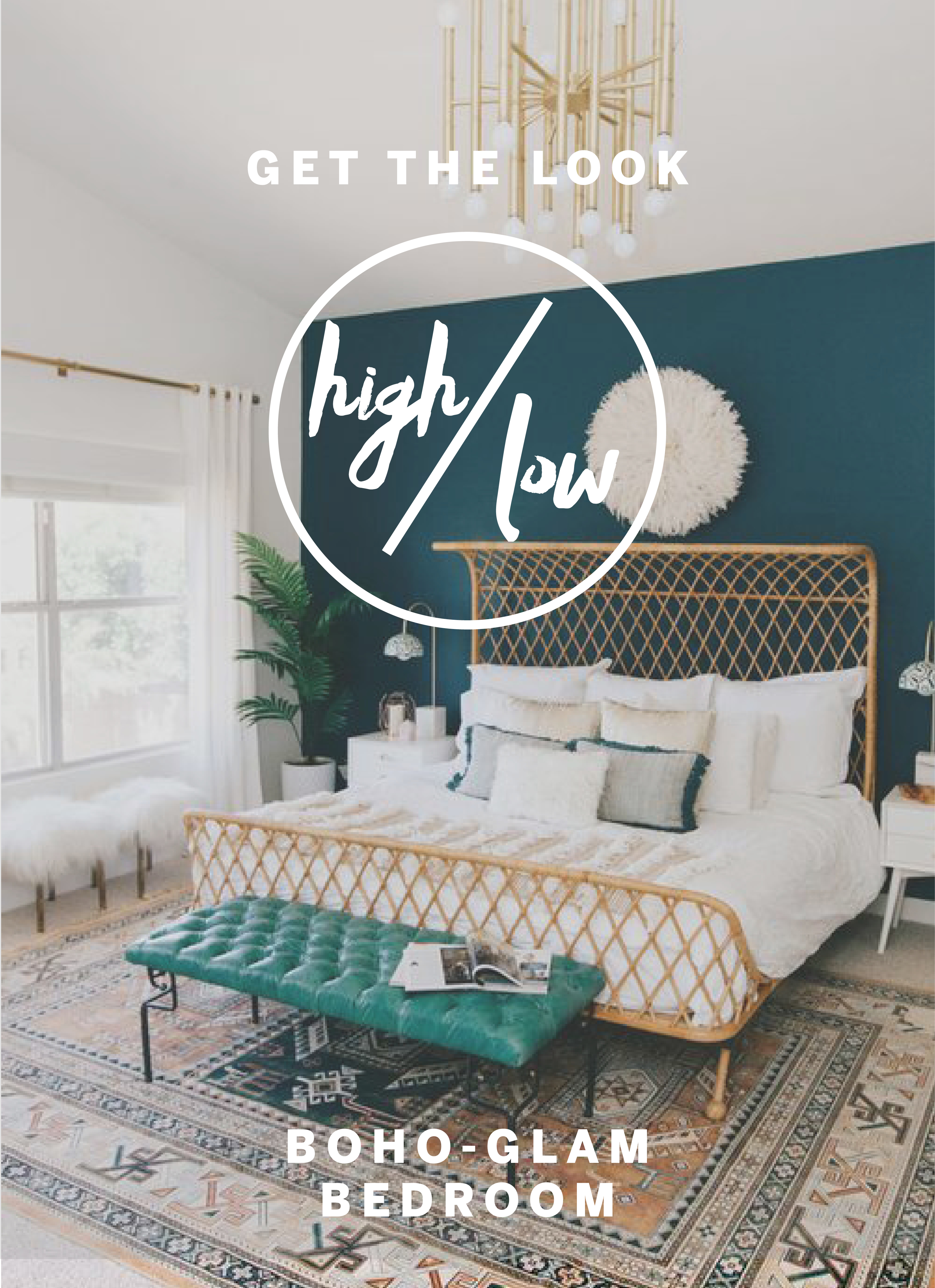 High Low Get The Boho Glam Bedroom Look Apartment Therapy