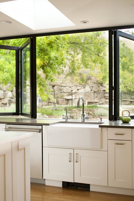 Your New Dream Kitchen Might Straddle The Line Between Indoors Out