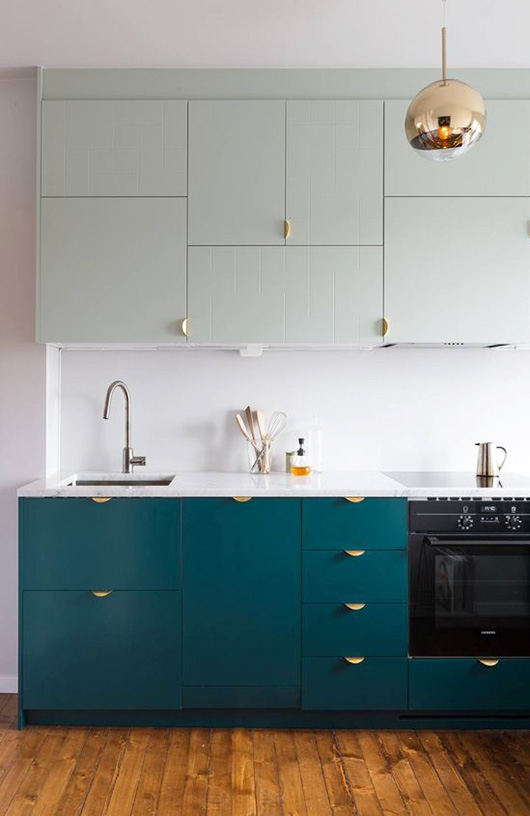 & The Kitchen Cabinet Color Iu0027m Obsessed With | Apartment Therapy