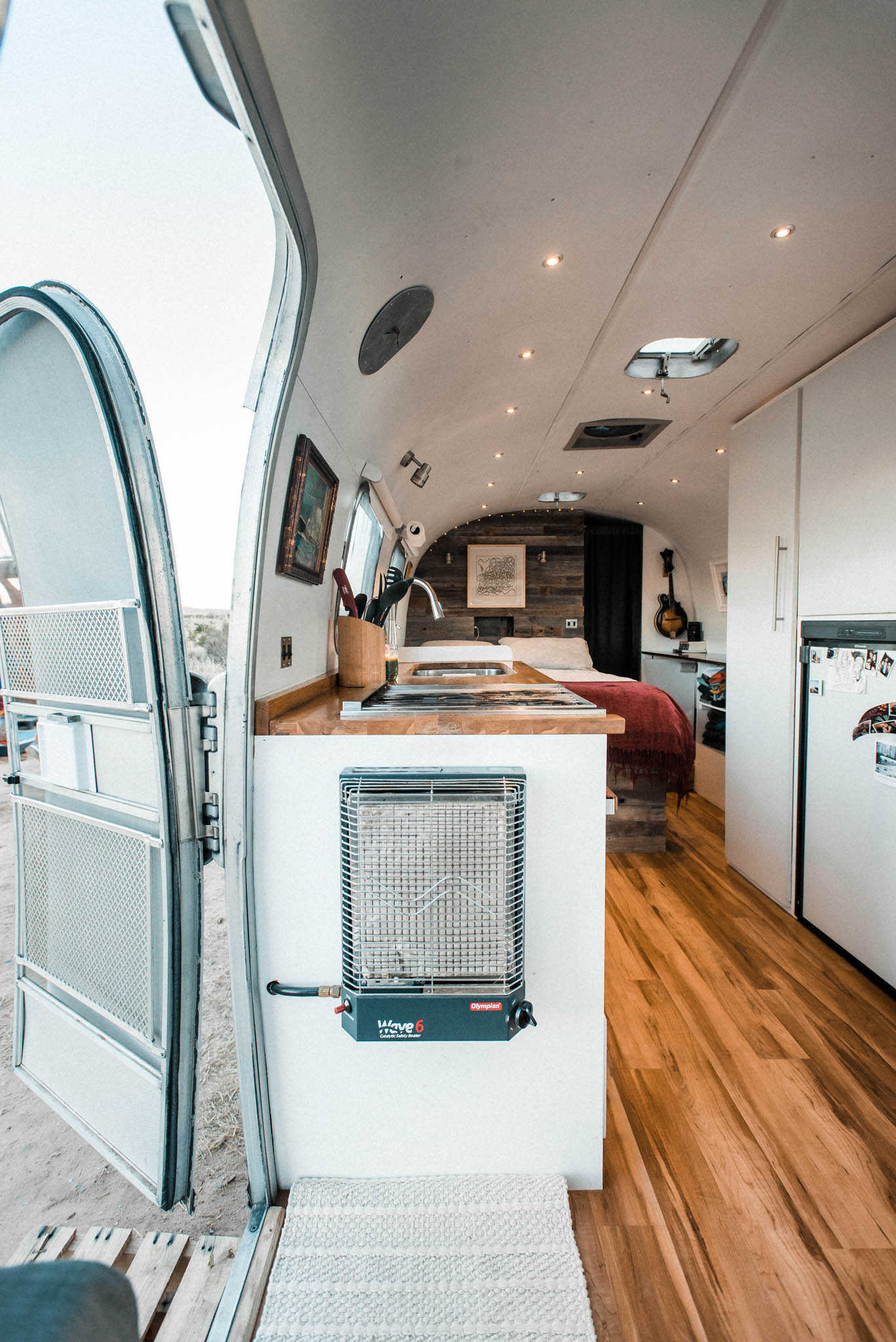 Tiny Home Tour: DIY Remodel of a '72 Airstream Trailer