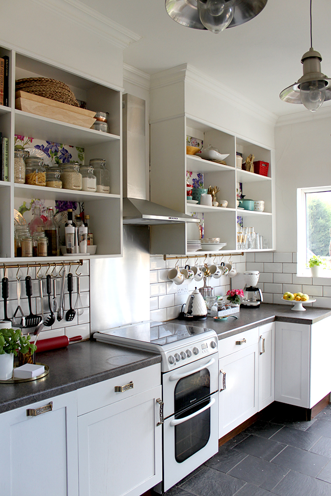 Make it Count: Smart Uses for the Space Below Upper Kitchen