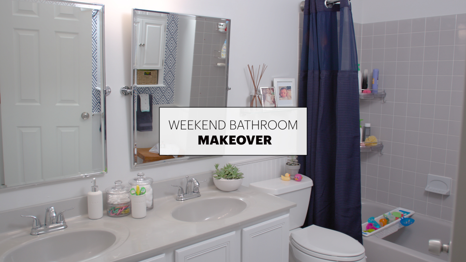 before after a beautiful bathroom makeover in just 1 weekend rh apartmenttherapy com