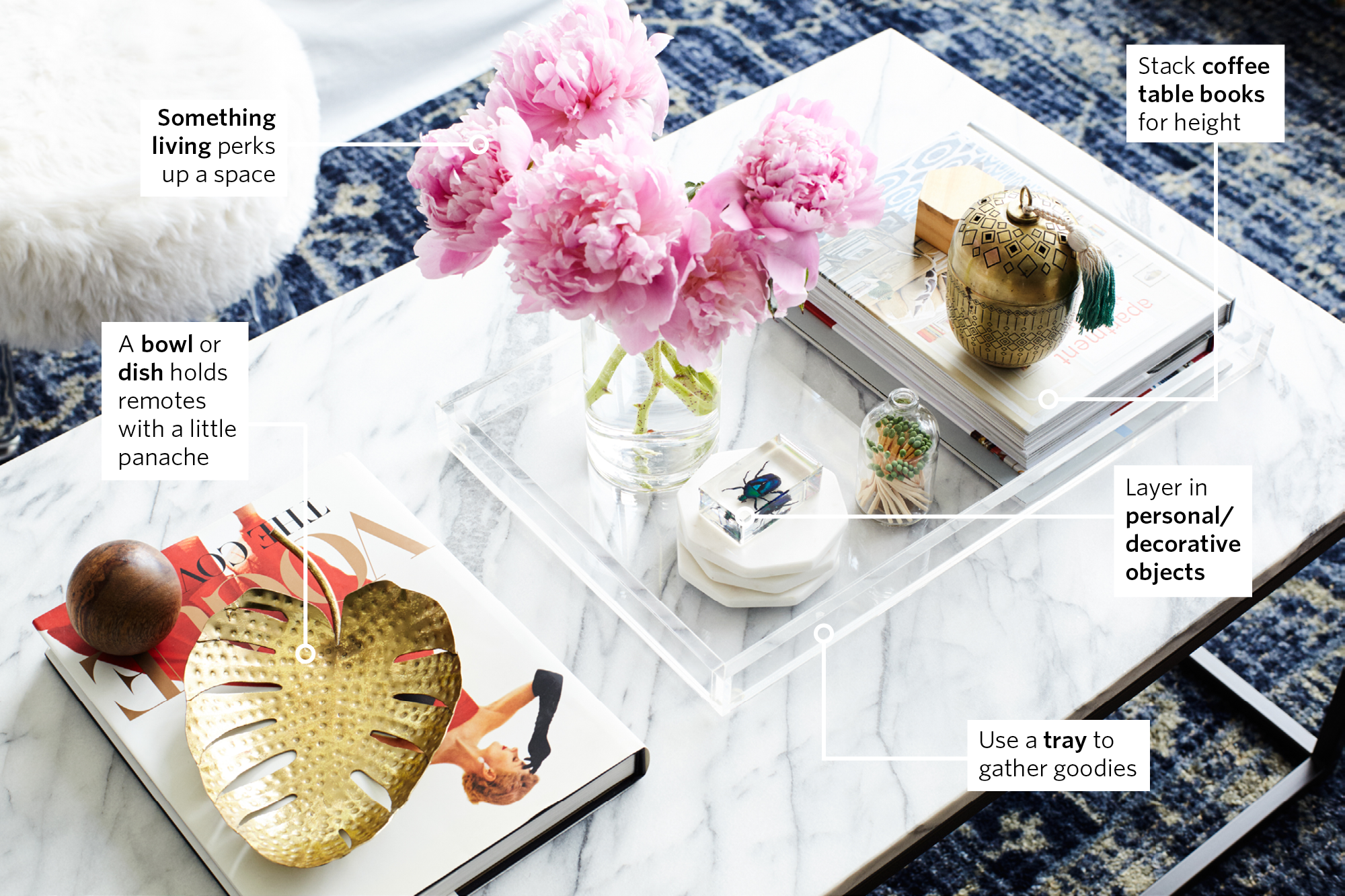 How To Style The Perfect Coffee Table Apartment Therapy
