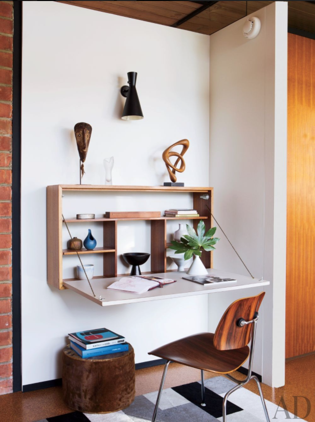 How to Sneak a Hidden Workspace Into Your Small Home ...