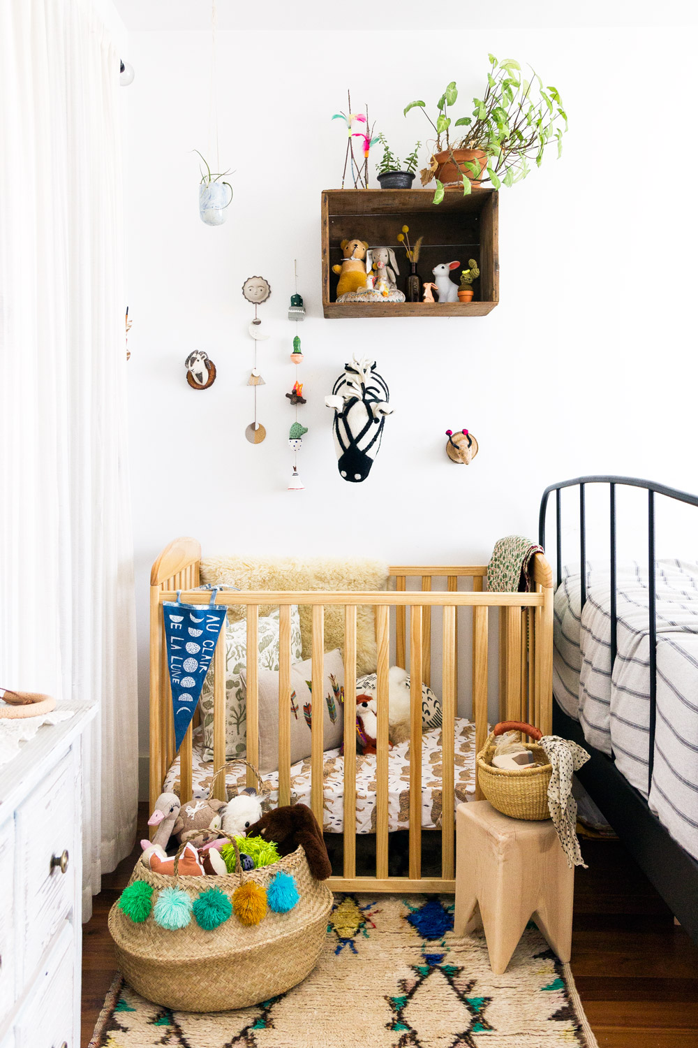 How To Fit A Nursery Into Your Very Small E Apartment