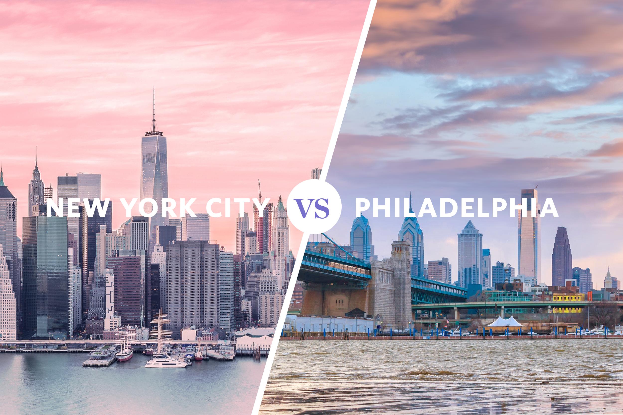 Cost-of-Living Comparison: New York City vs  Philadelphia