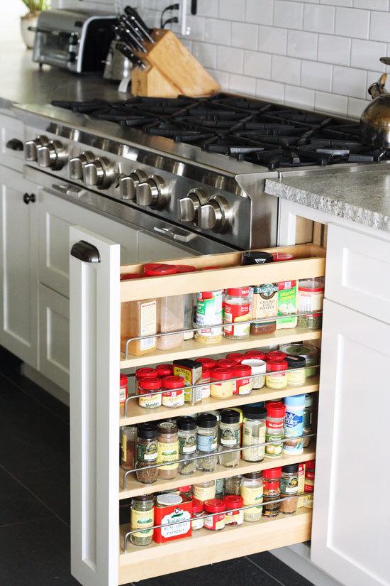 Clever Kitchen Storage Ideas That Utilize Awkward Empty Spots
