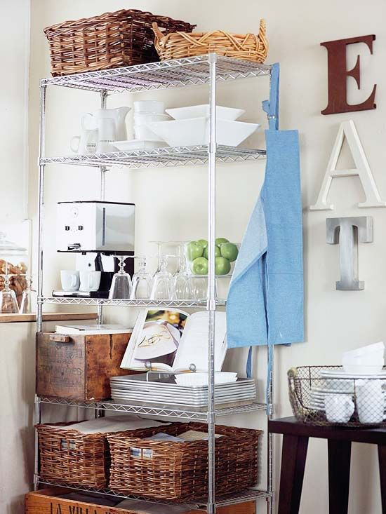 Wondrous The Wire Shelving Unit That Solved My Small Kitchen Storage Download Free Architecture Designs Scobabritishbridgeorg