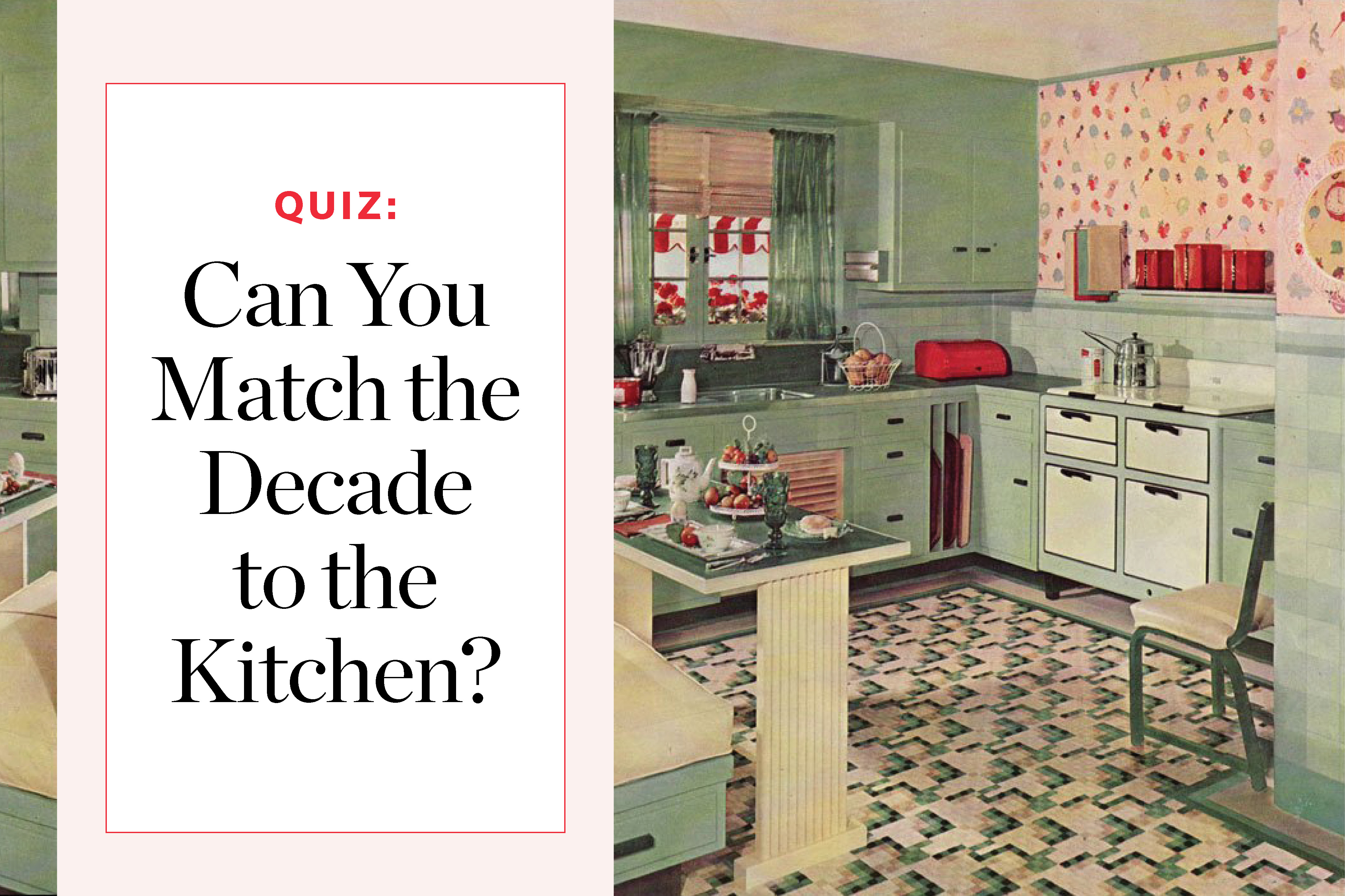 Can You Guess Which Decade These Kitchens Belong To