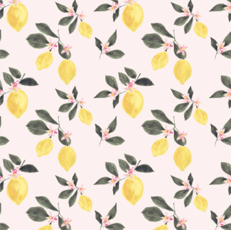 Gorgeous Rooms With Lemon Wallpaper & Where to Buy It | Apartment Therapy