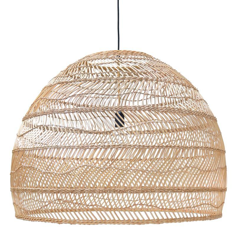 the latest cf2e7 62a08 Currently Obsessed: Rattan & Wicker Pendant Lights ...