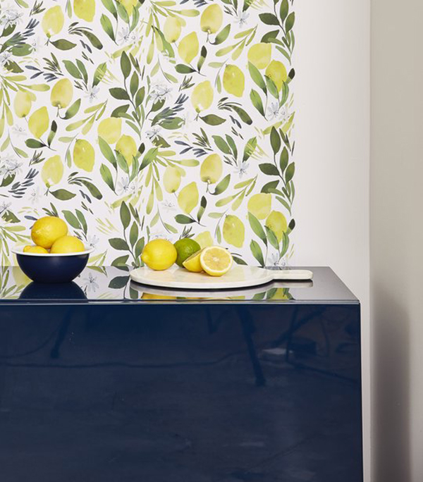 Gorgeous Rooms With Lemon Wallpaper & Where to Buy It   Apartment Therapy
