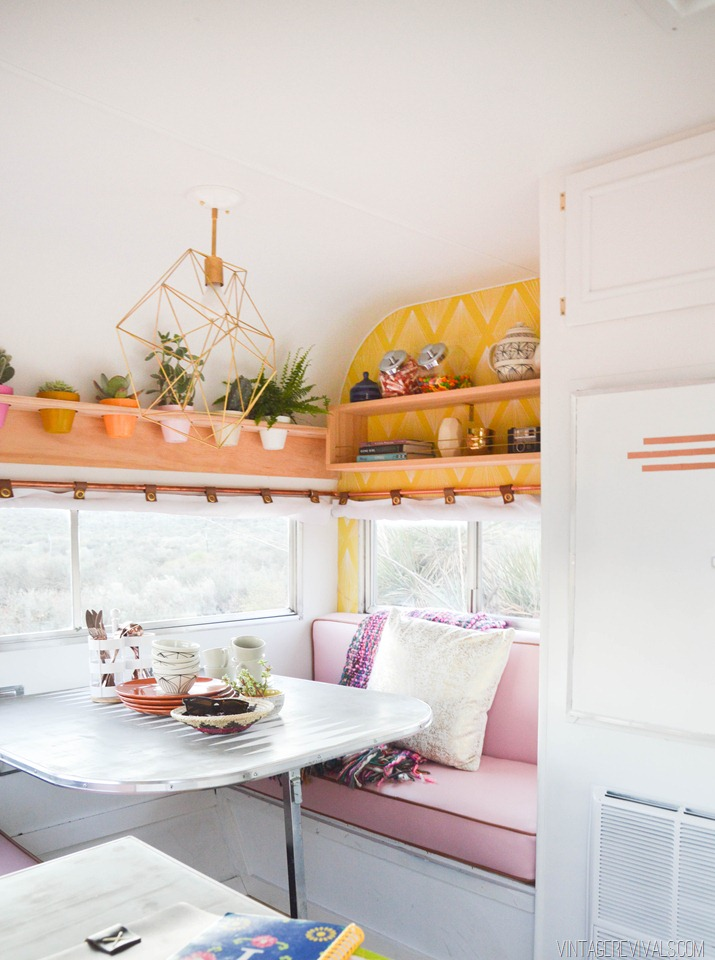 An Unbelievable Tiny Trailer Makeover by Vintage Revivals