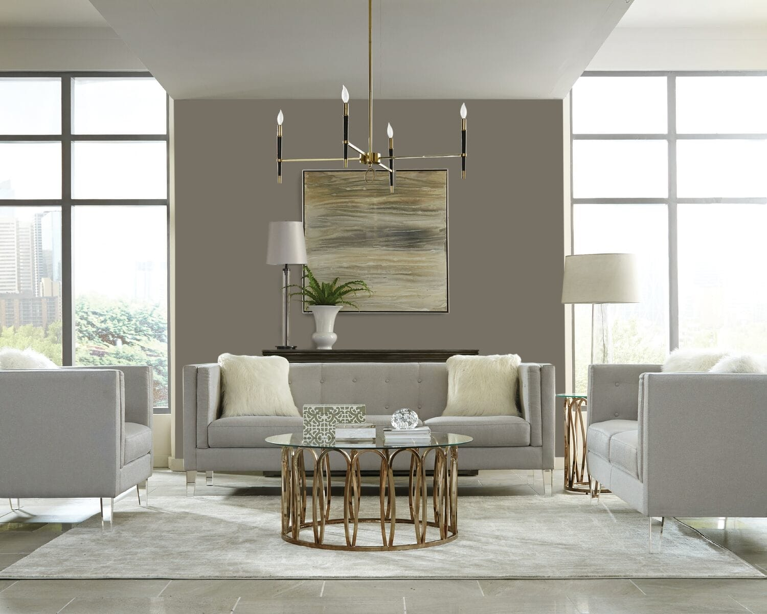 The Property Brothers Debut A Furniture Line With Lowes Apartment