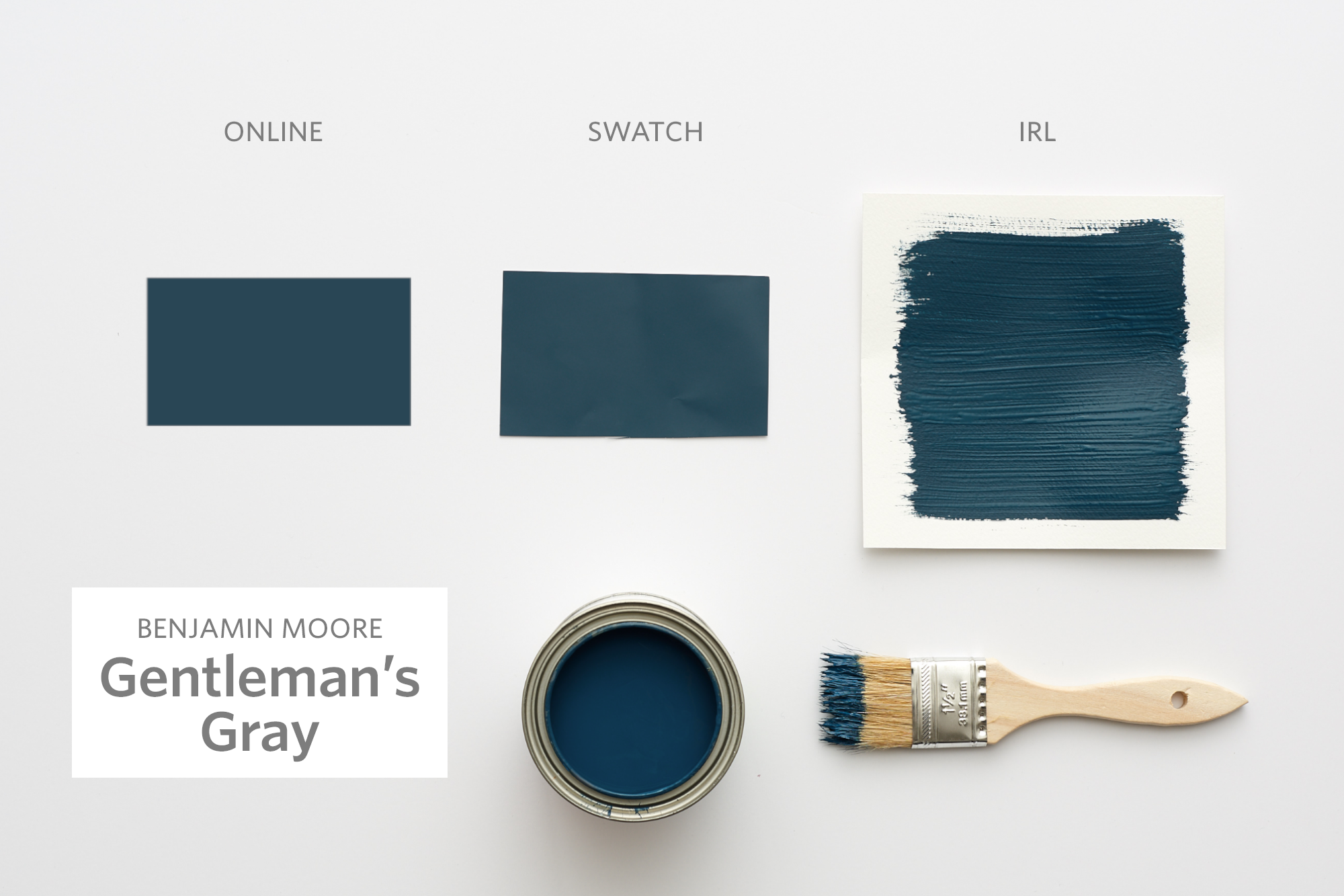 Color Cheat Sheet The 21 Most Perfect Blue Paint Colors For Your
