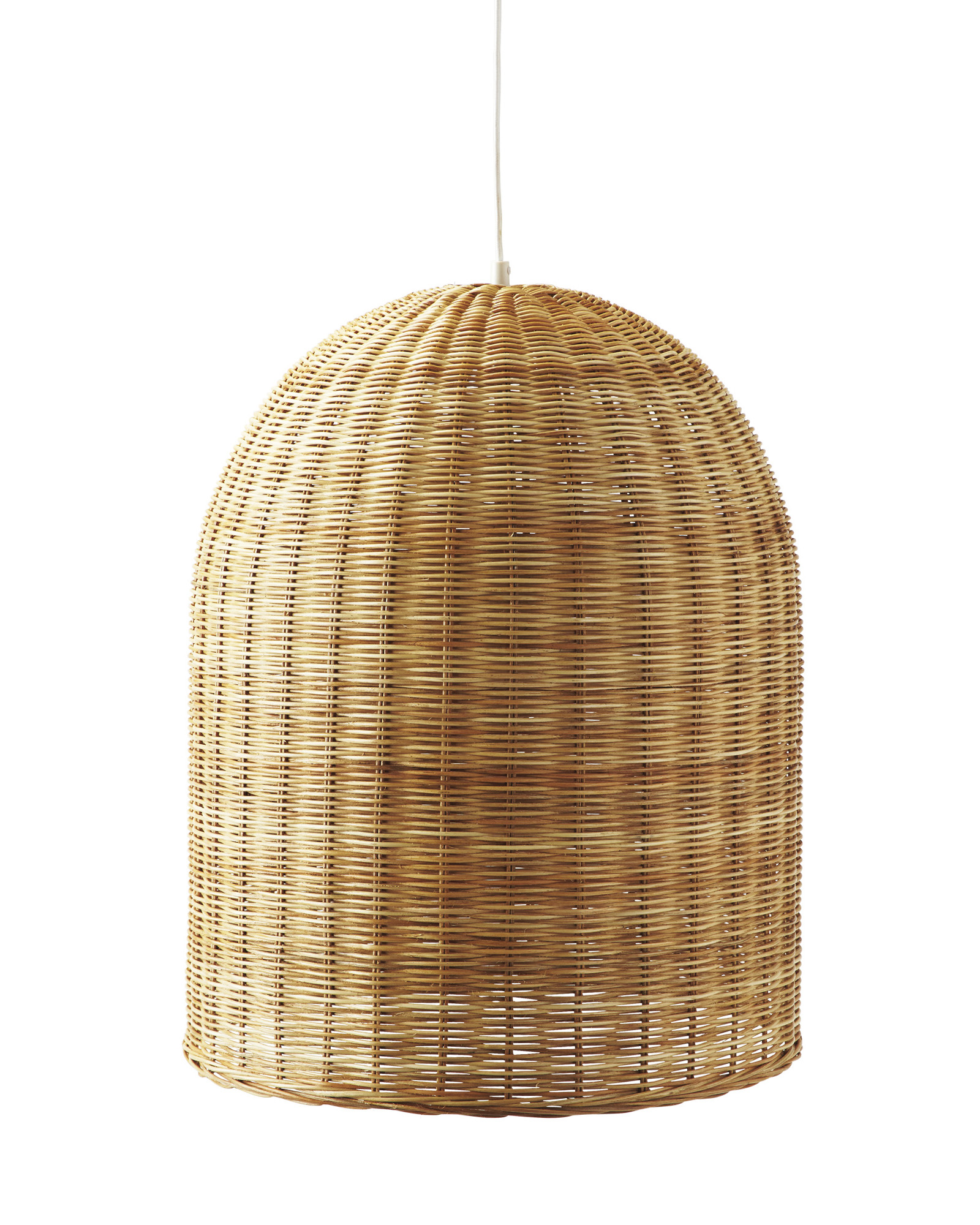 Curly Obsessed Rattan Wicker Pendant Lights