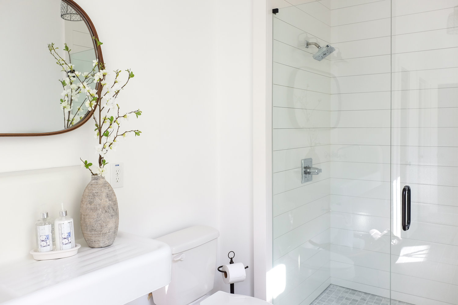 Before After Introducing The World S First Shiplap Shower