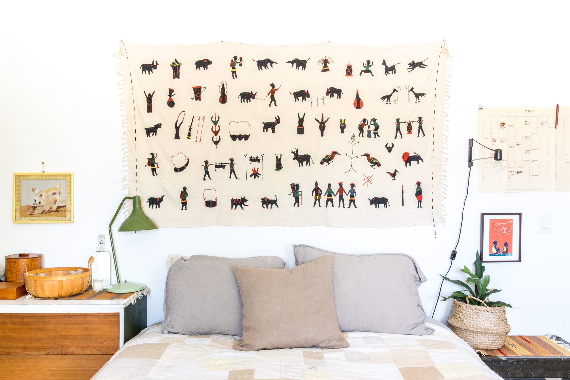 How To Hang A Tapestry Apartment Therapy