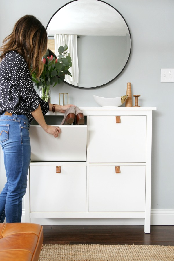 The Stylish Shoe Storage Solutions You Need For A Finally Tidy Entryway Apartment Therapy
