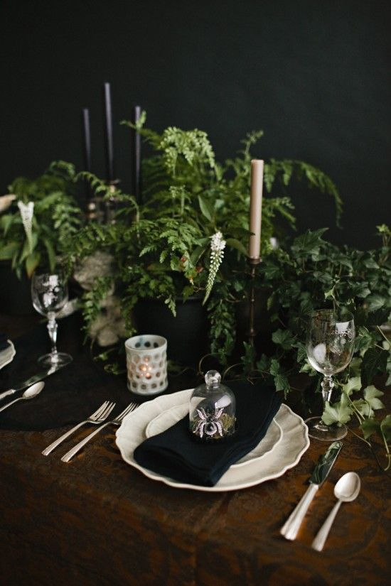Halloween Party Table Decorating Ideas Apartment Therapy