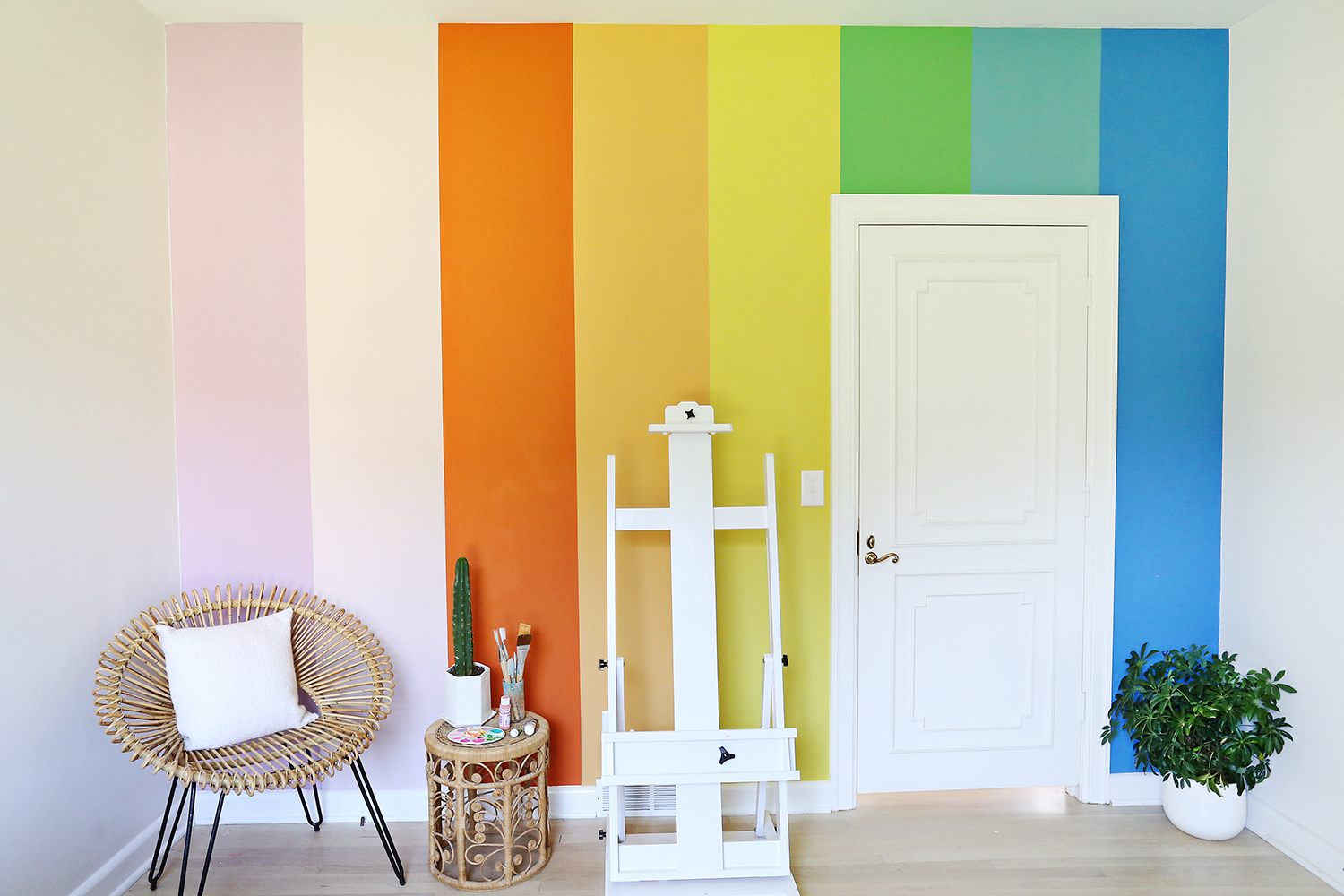 Multi Color Wall Painting Ideas