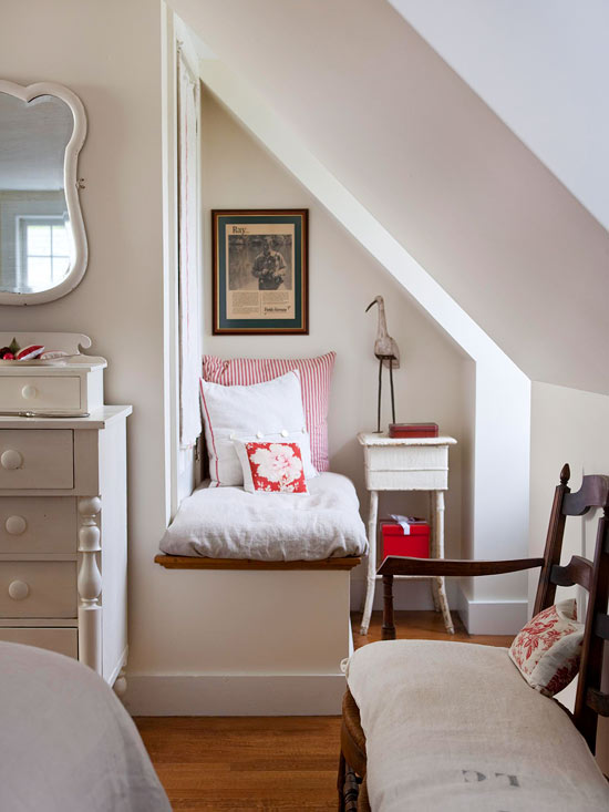 how to fit a reading nook into the smallest of spaces | apartment