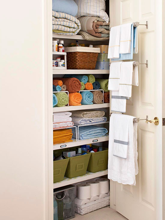 Linen Closet Organizing Ideas That Are Also Beautiful Apartment Therapy