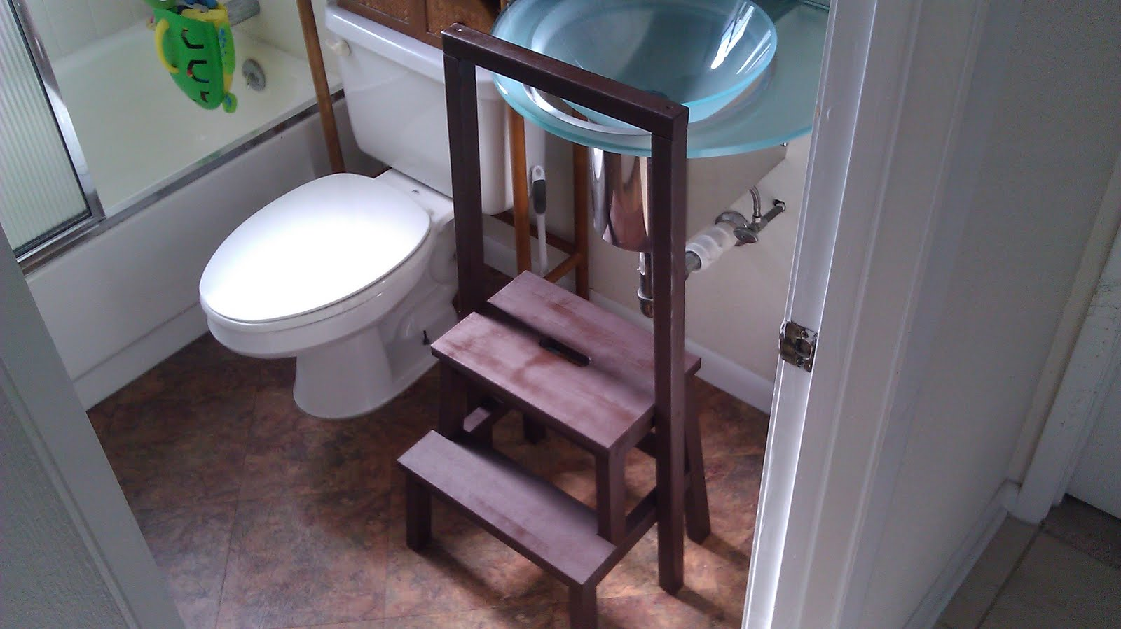 Pleasing Bekvam Step Stool Hacks And Makeovers Apartment Therapy Machost Co Dining Chair Design Ideas Machostcouk
