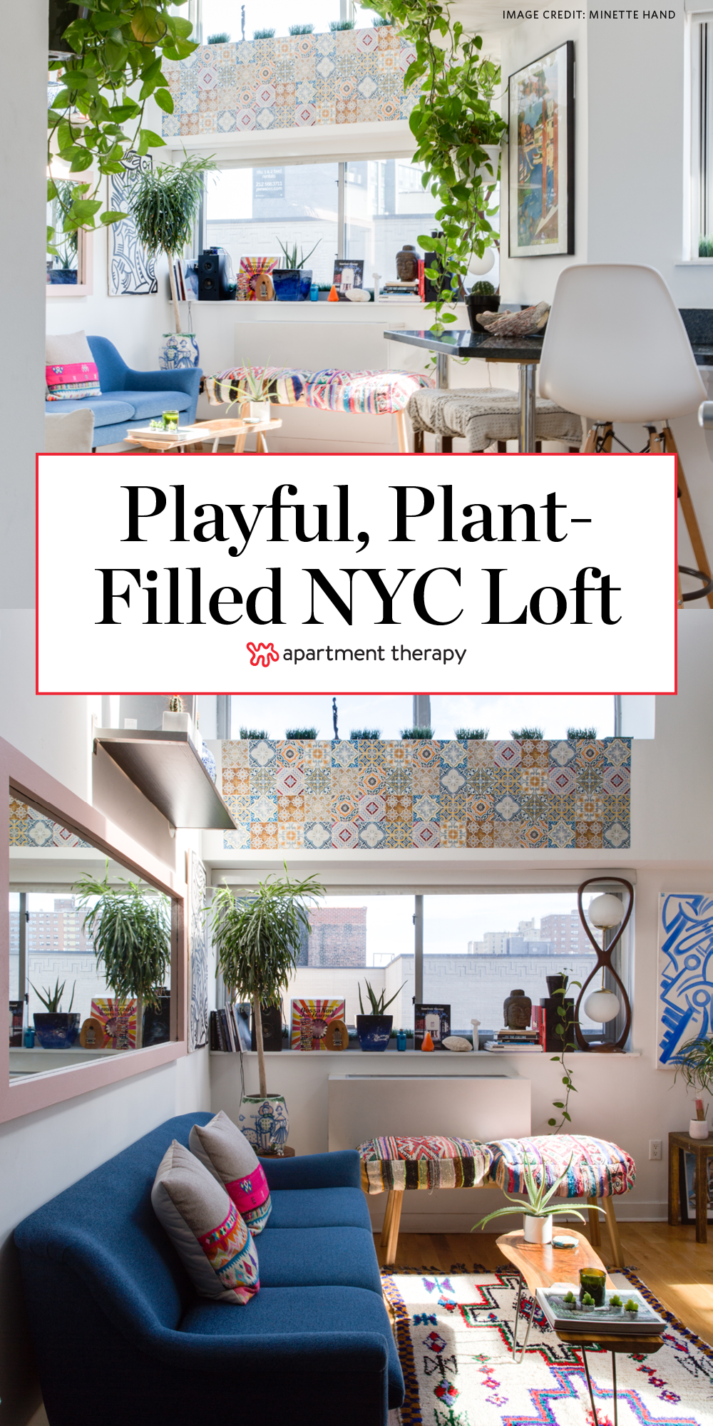 House Tour A Sunny Plant Filled Manhattan Loft Apartment