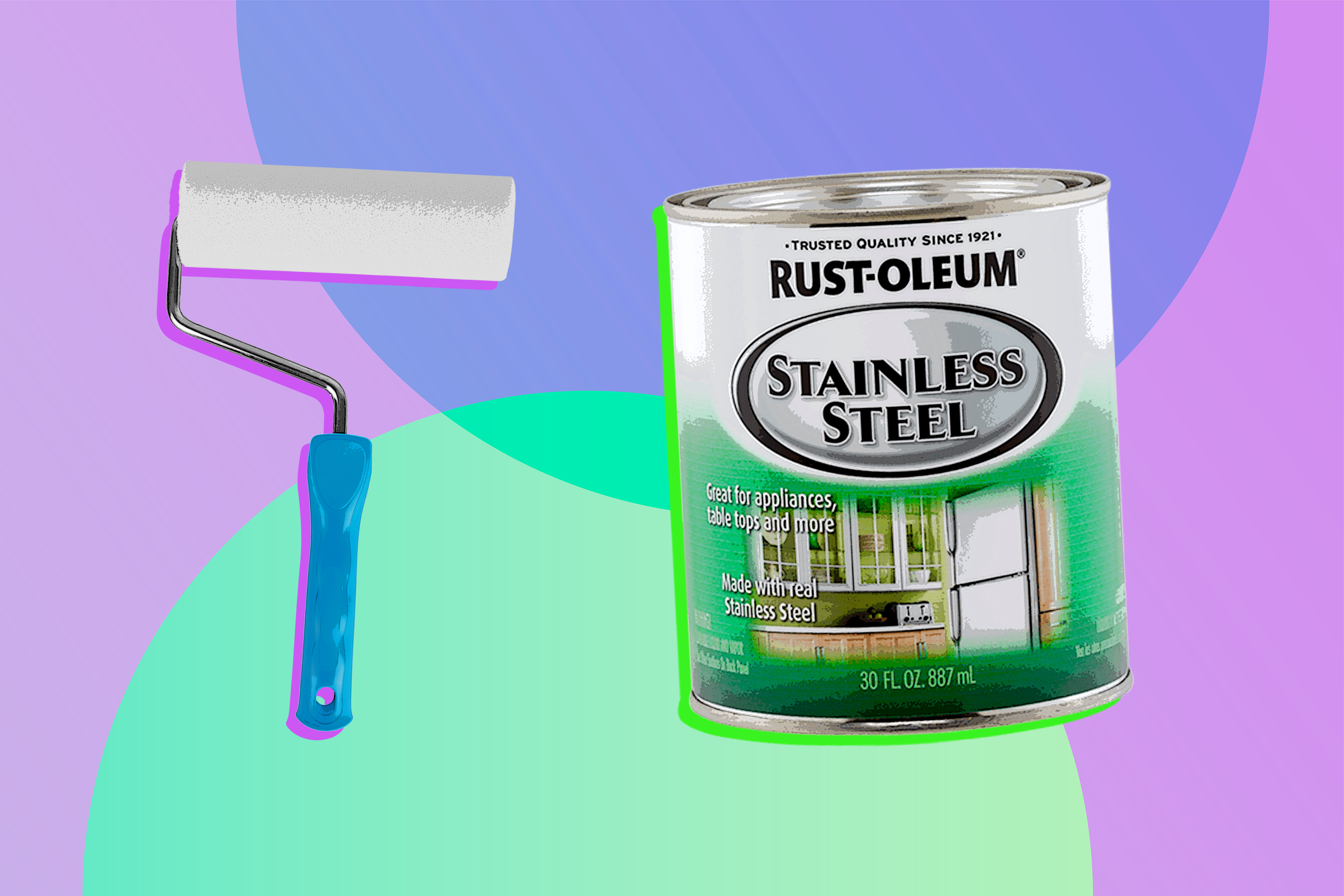 Rust Oleum Stainless Steel Paint Does