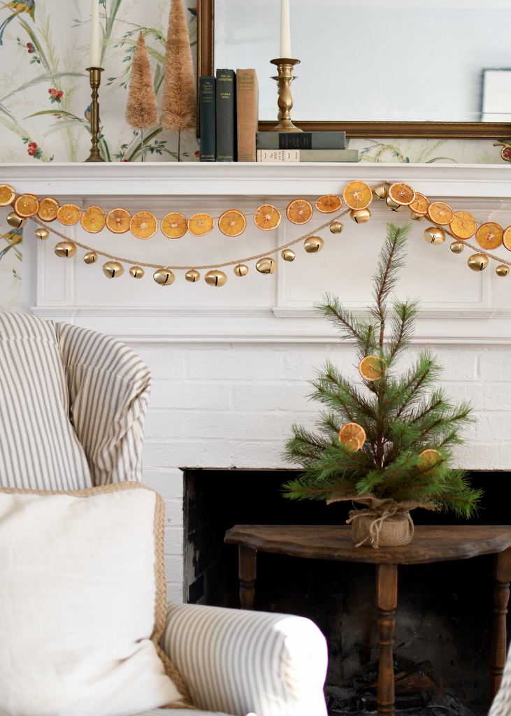 Citrus Dried Orange Slices Christmas Decorations Apartment Therapy