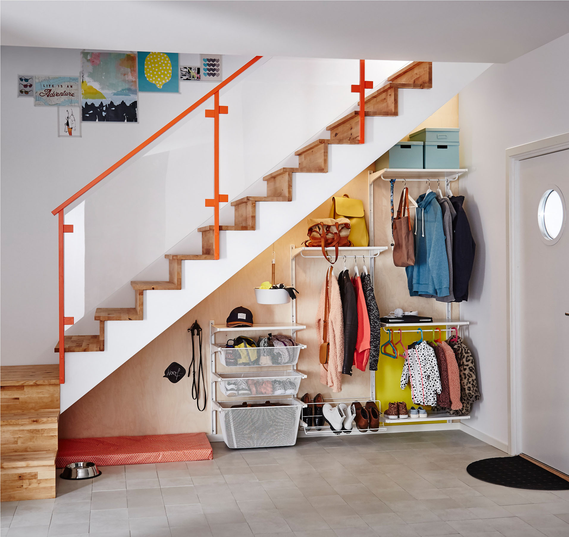 Ikea Algot Closet Organizing System Apartment Therapy