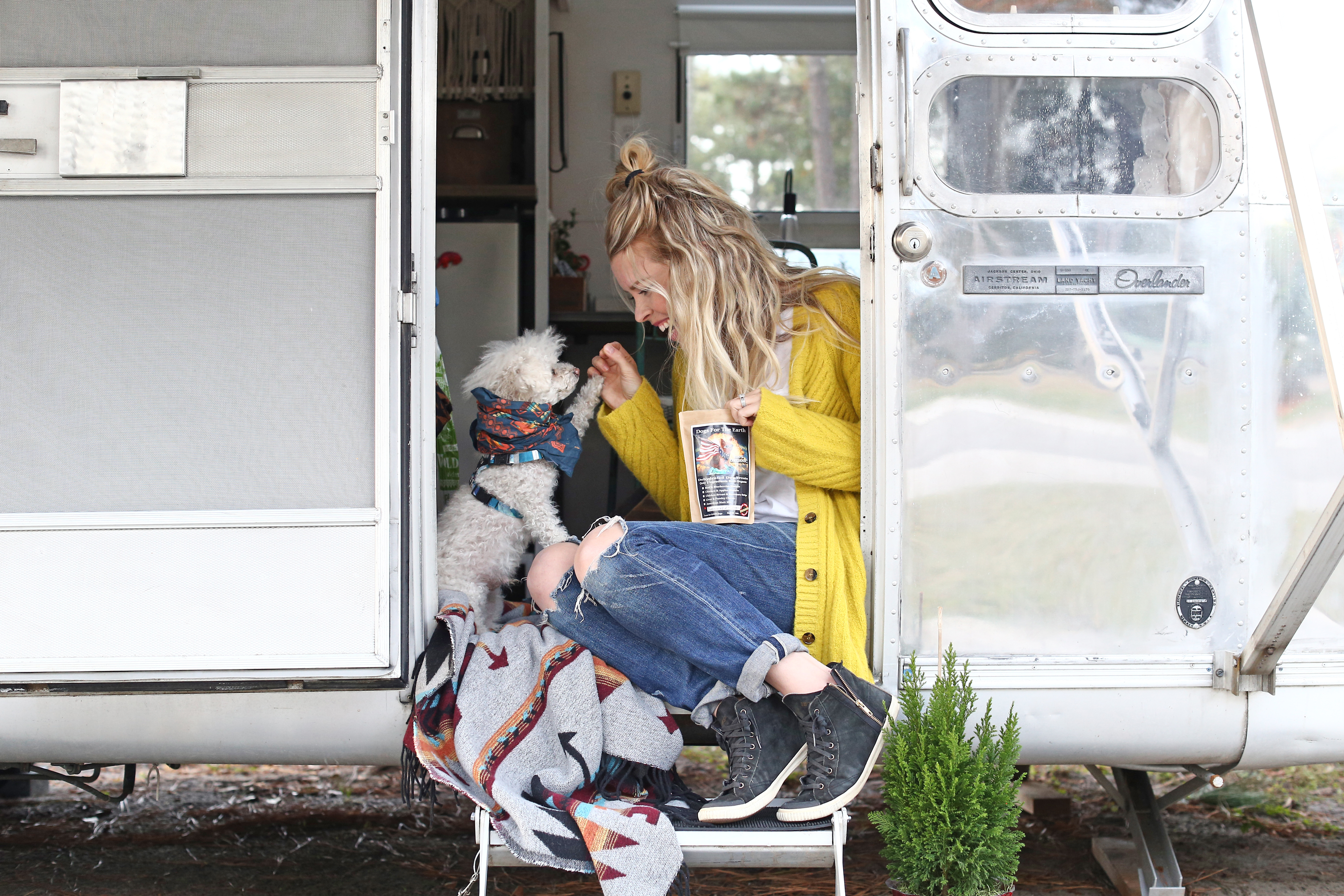 House Tour: An Updated & Remodeled Airstream Trailer