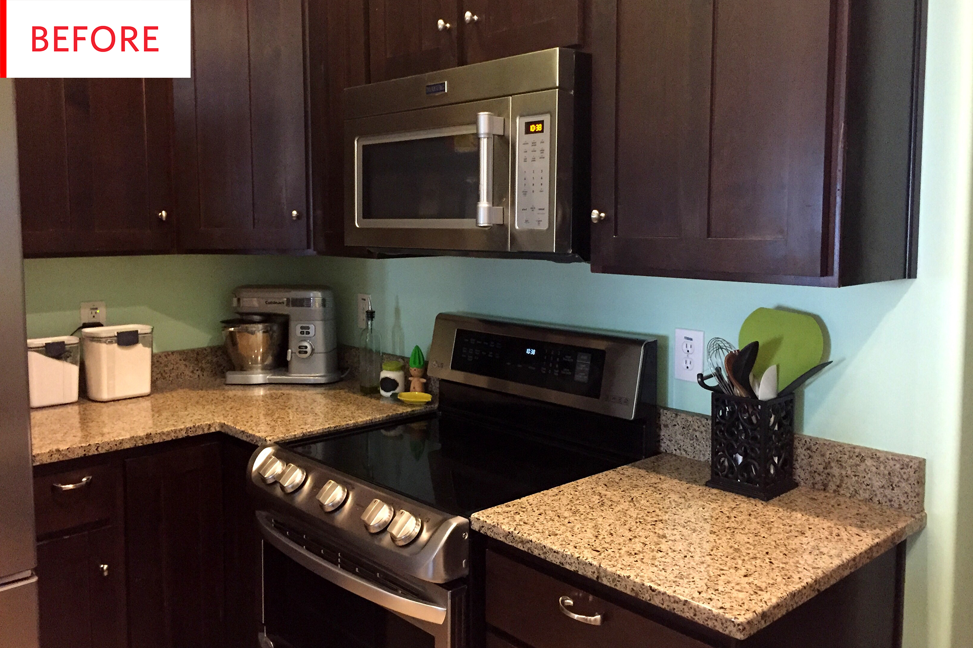 Rental Kitchen Cabinet Lighting Hack Apartment Therapy