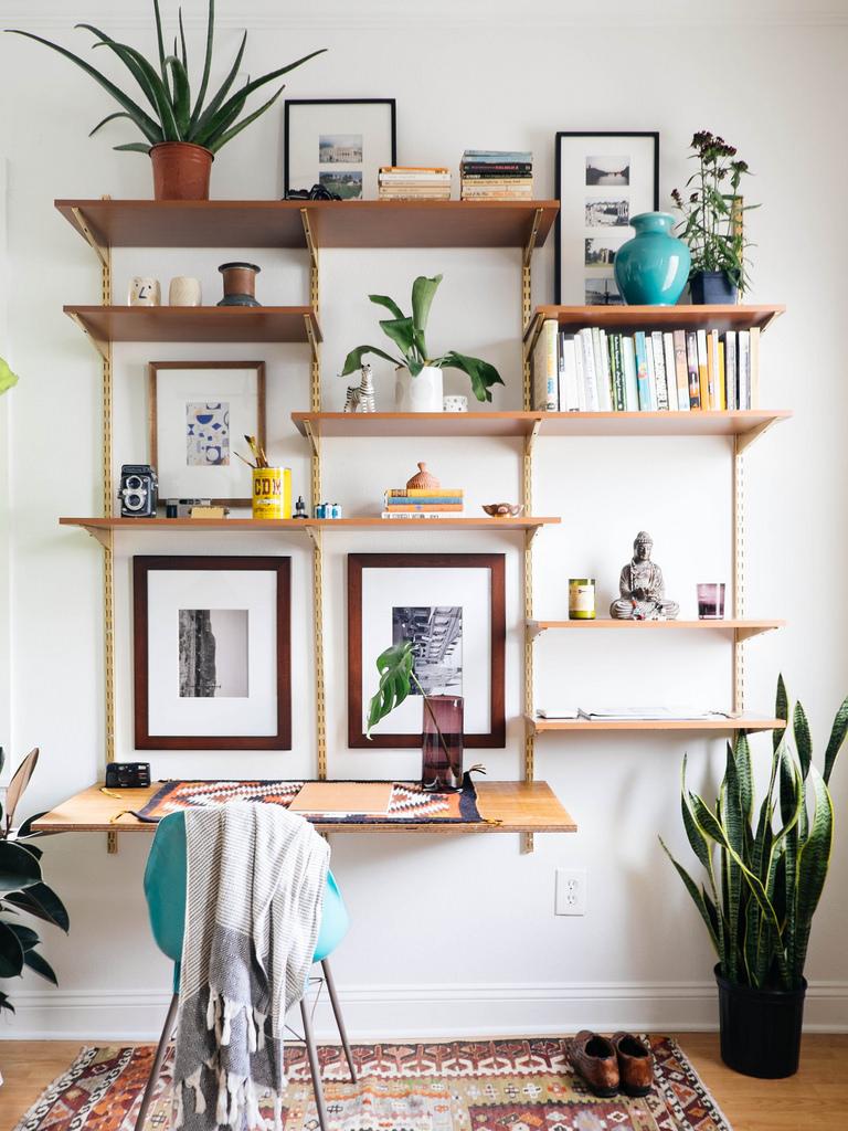 Wall Shelving - Budget Living Room Storage Under $100 ...