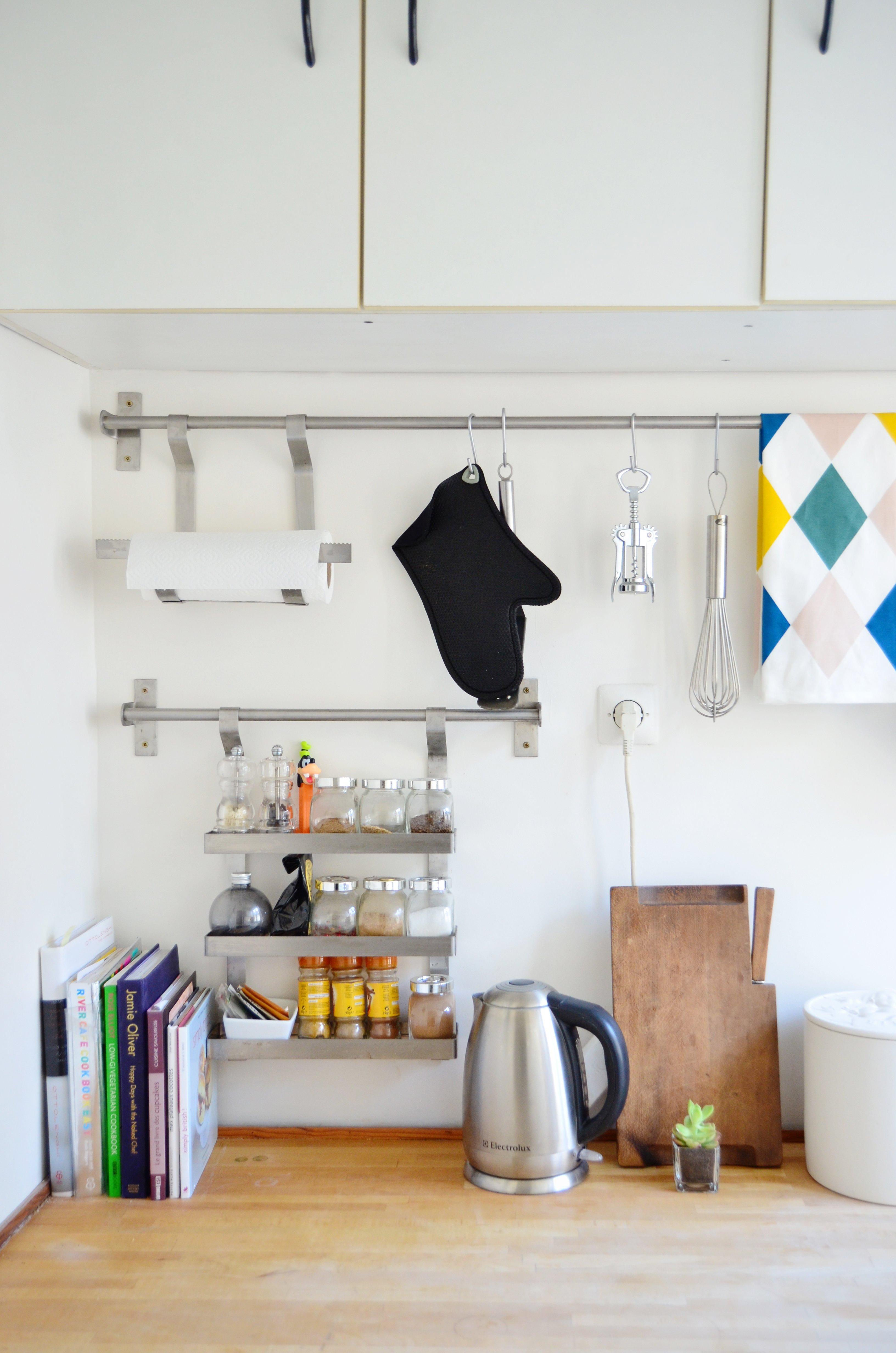 Ikea Grundtal Kitchen Organizing Ideas