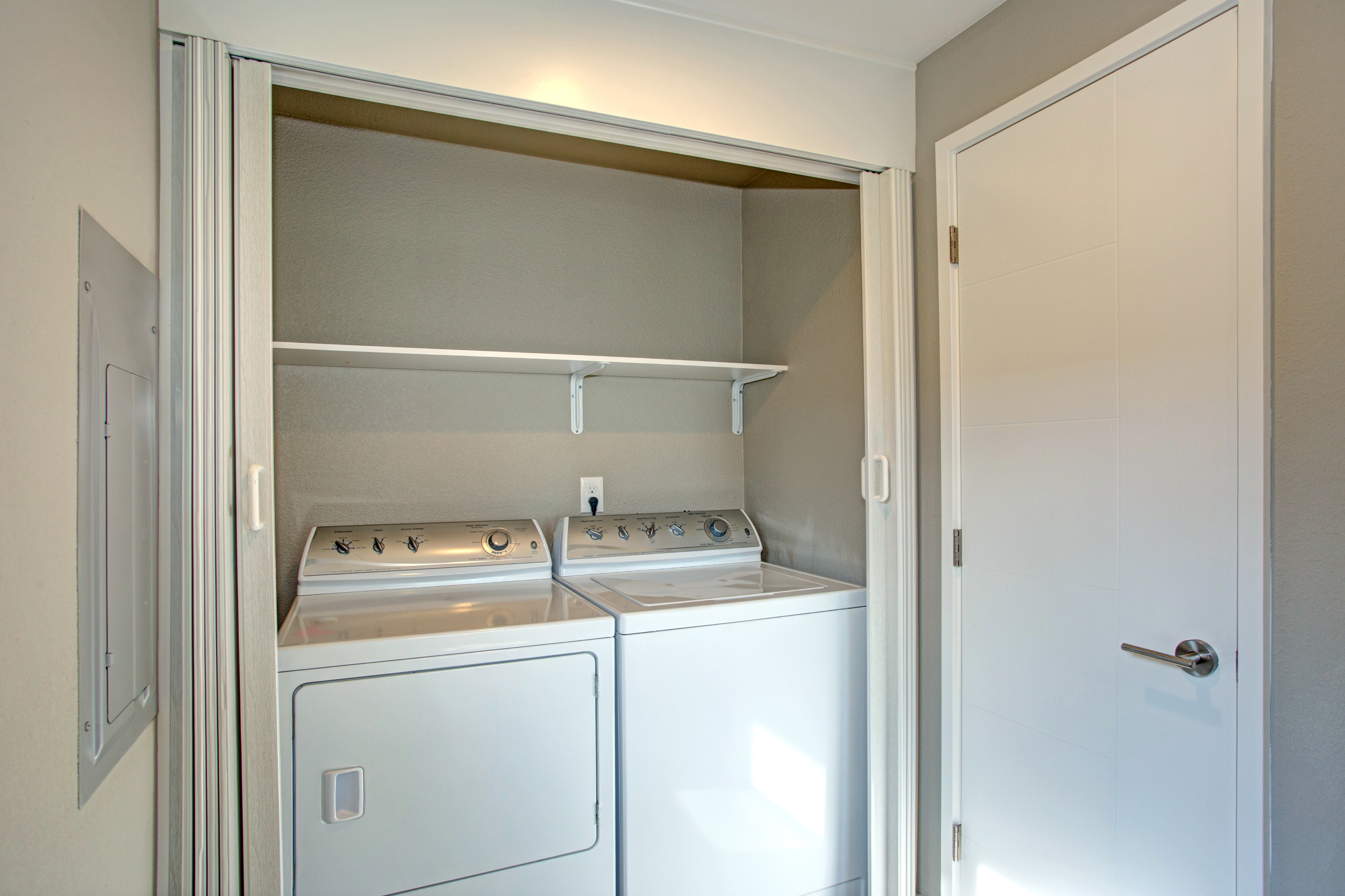 Laundry Room Makeover Rental Dollar Store Products Video Apartment Therapy