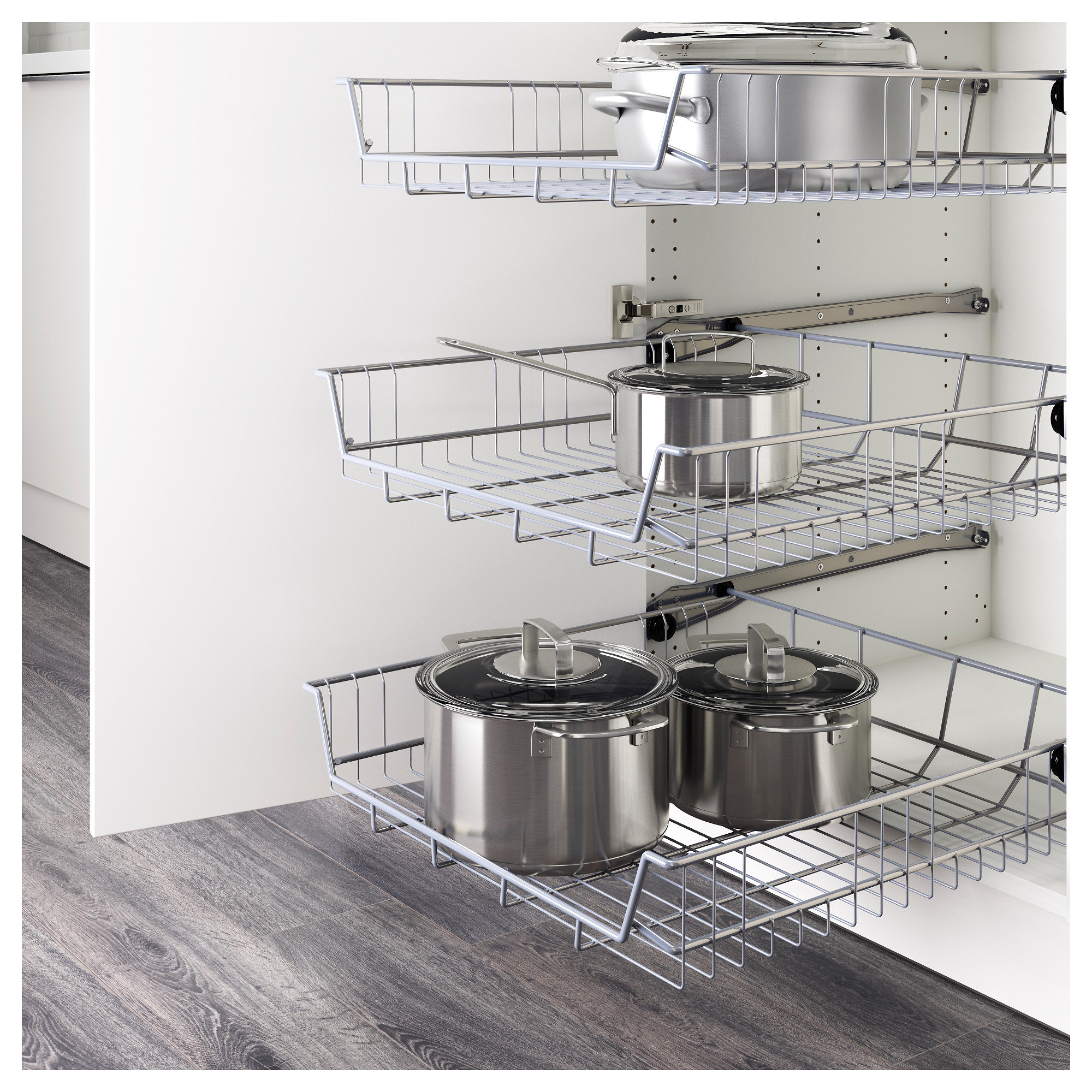 The Best IKEA Kitchen Cabinet Organizers   Apartment Therapy
