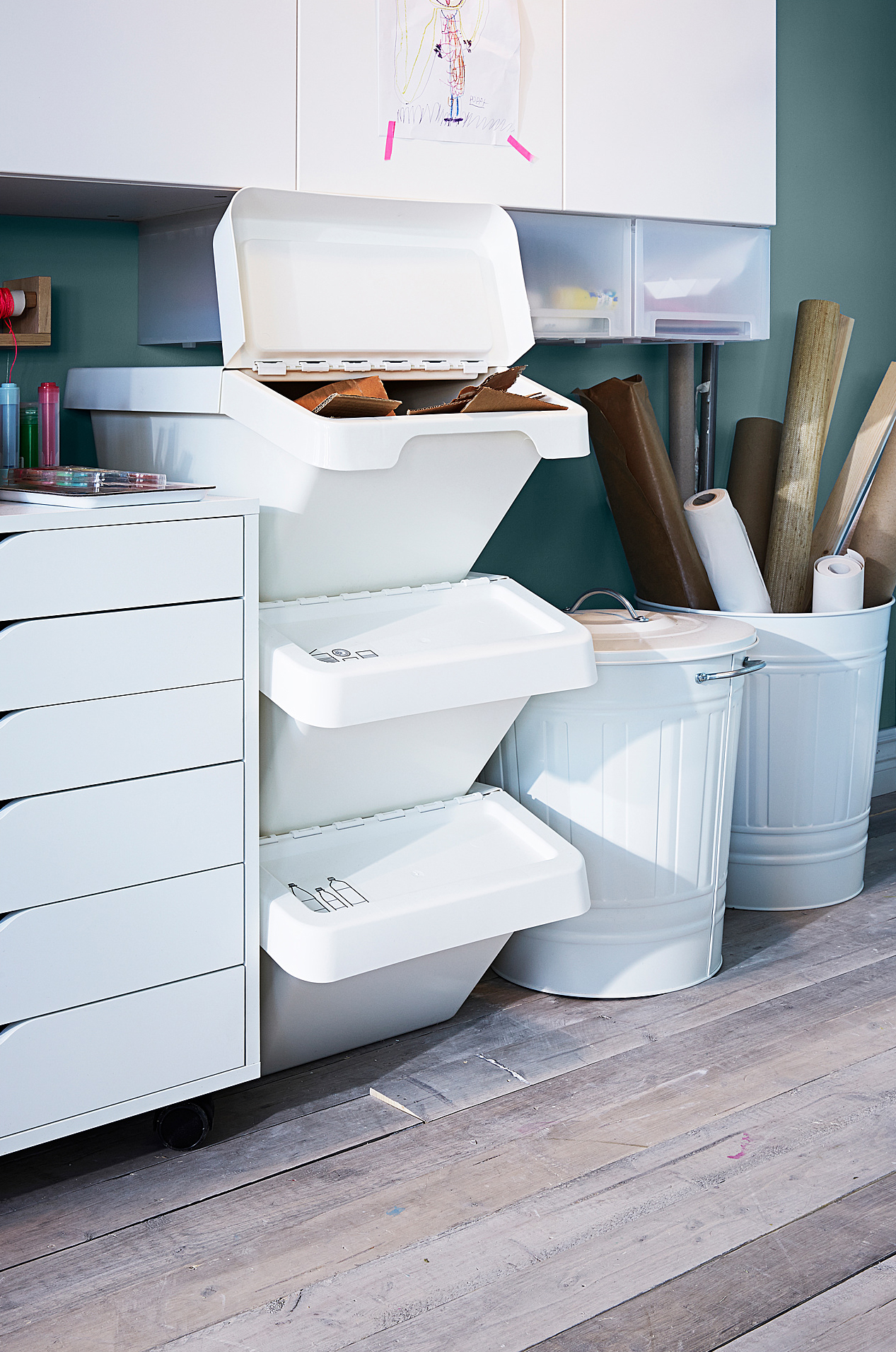 IKEA Recycling Bins and Green Initiatives | Apartment Therapy