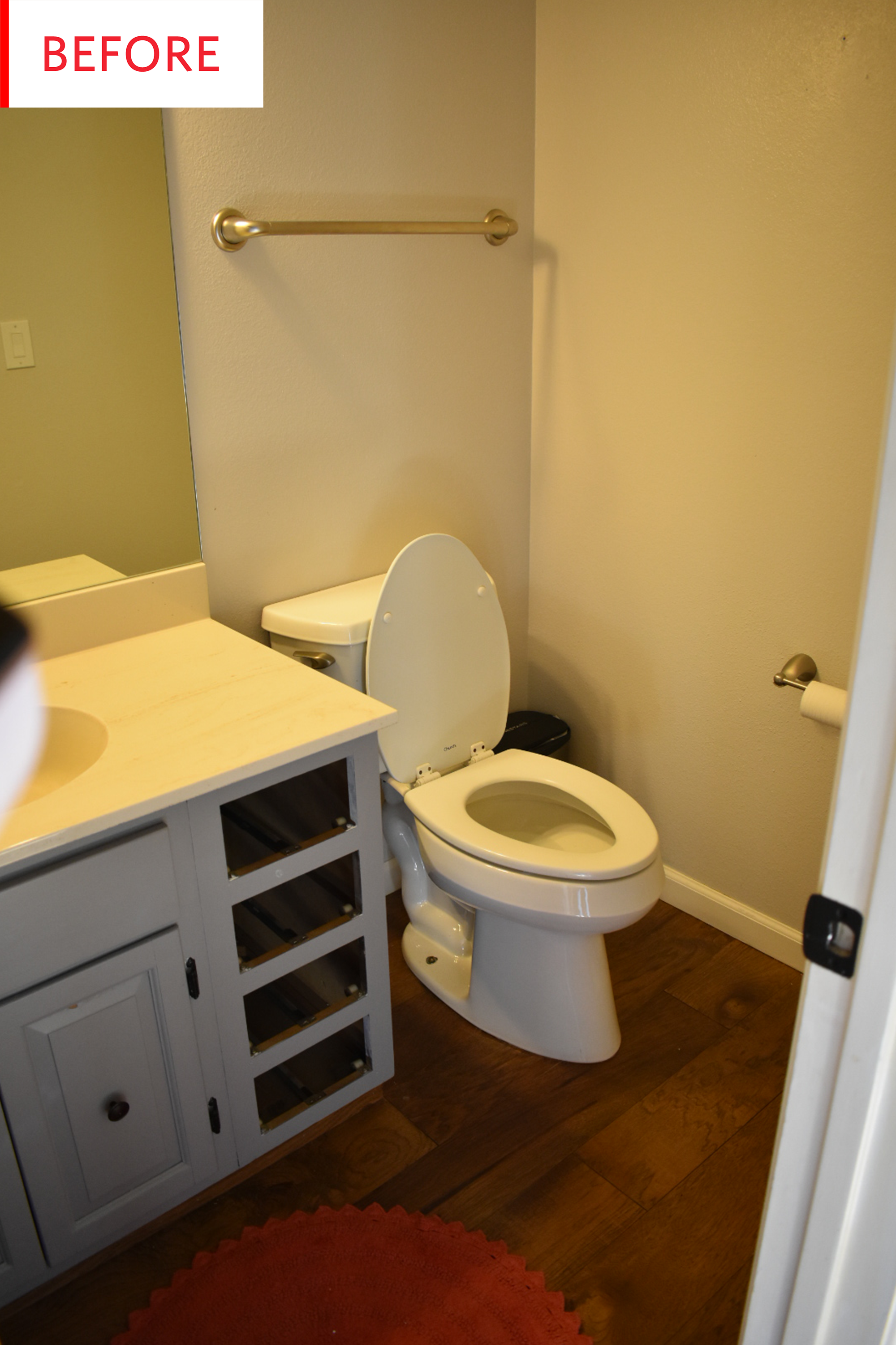 Bathroom Wallpaper - Remodel Before After | Apartment Therapy