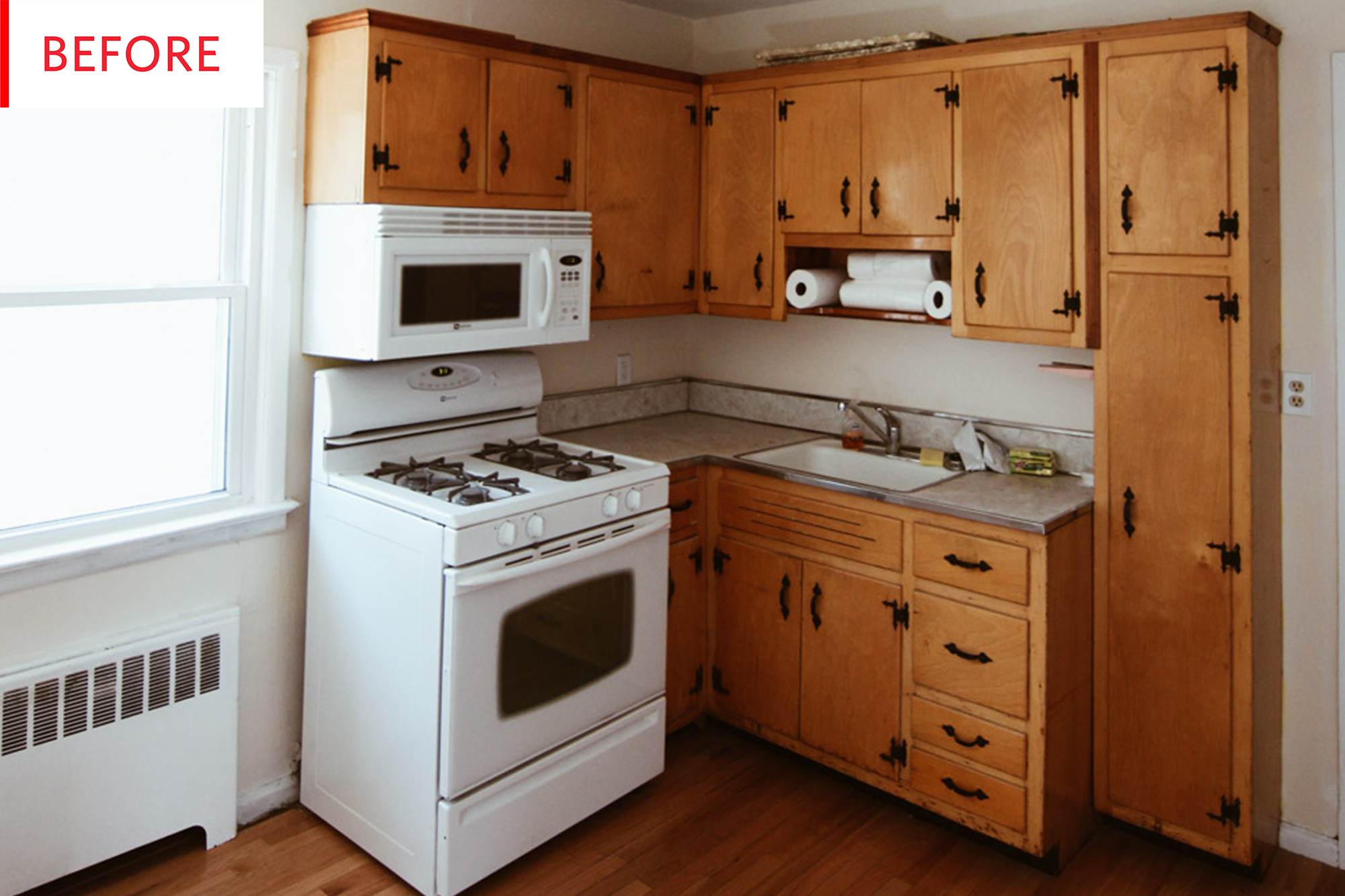 Painting Kitchen Cabinets Budget Remodel Before After