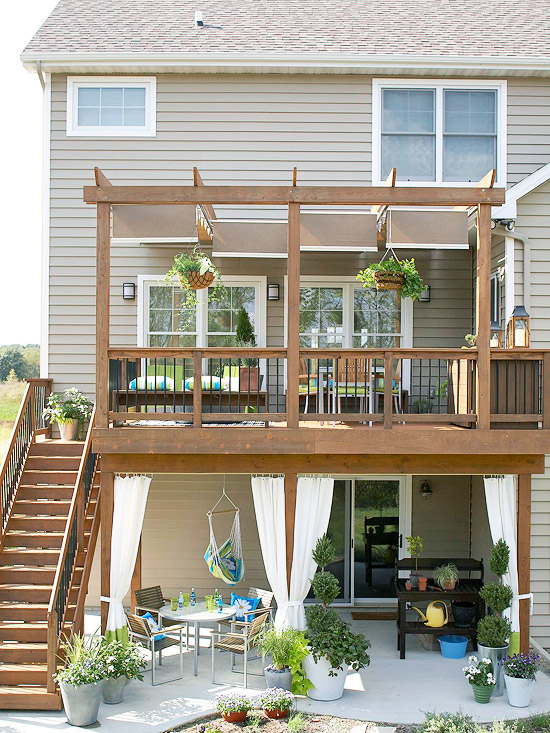 Deck Ideas Backyard Designs Apartment Therapy