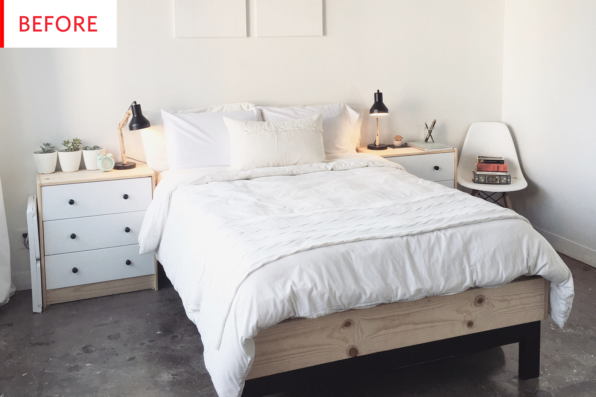 IKEA Storage Bed Hack - Before After | Apartment Therapy