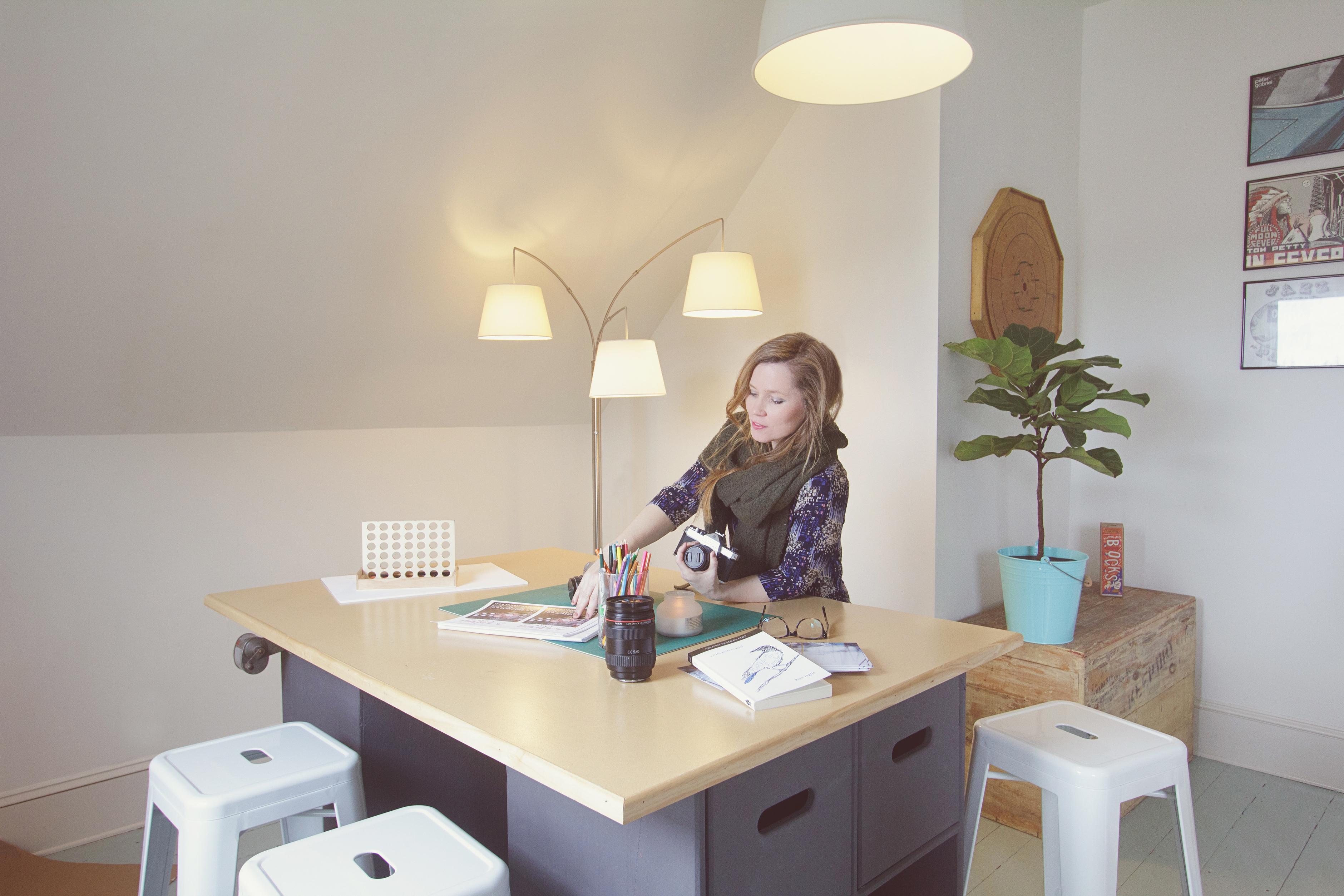 Home Office Tour: Nova Scotia Author Kate Inglis | Apartment Therapy