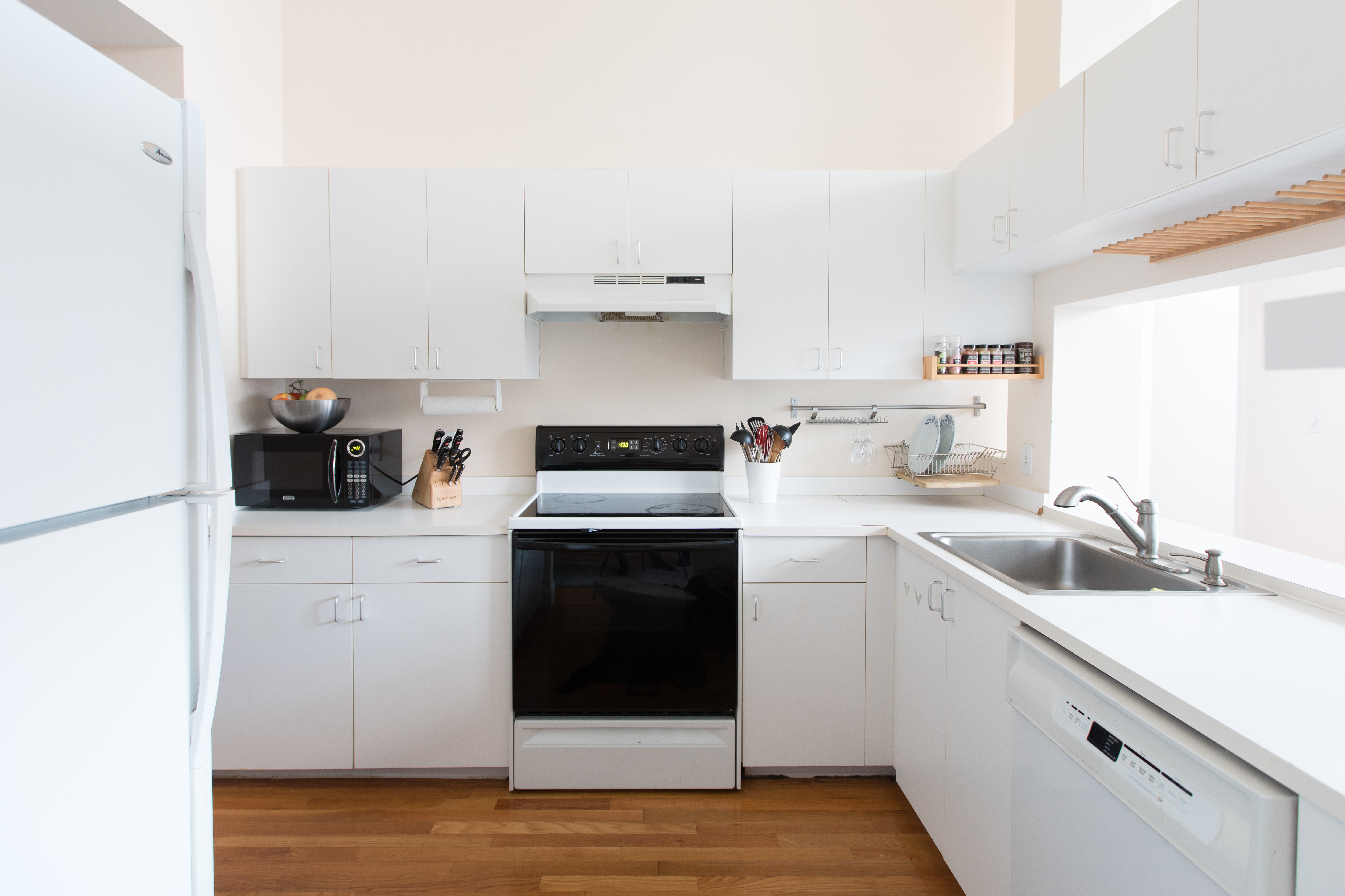 Cheap Appliance Makeovers - Refrigerator Paint, Covers ...