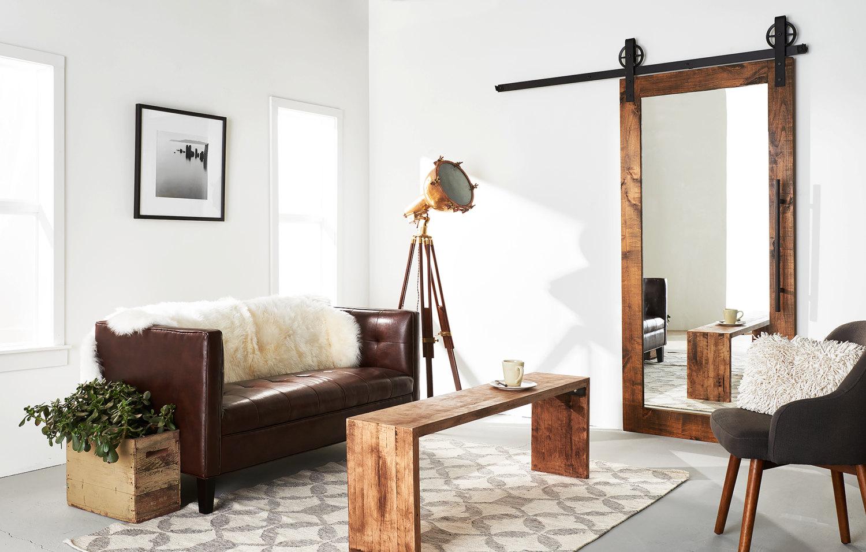 Mirror Door Design For Drawing Room on