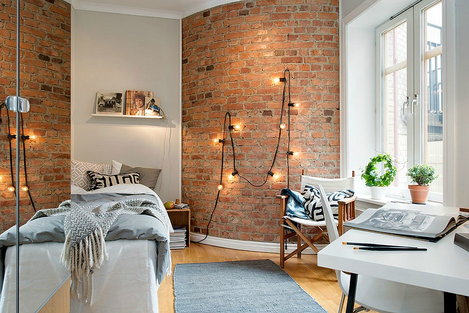 28 Ways to Use Those Magical String Lights | Apartment Therapy