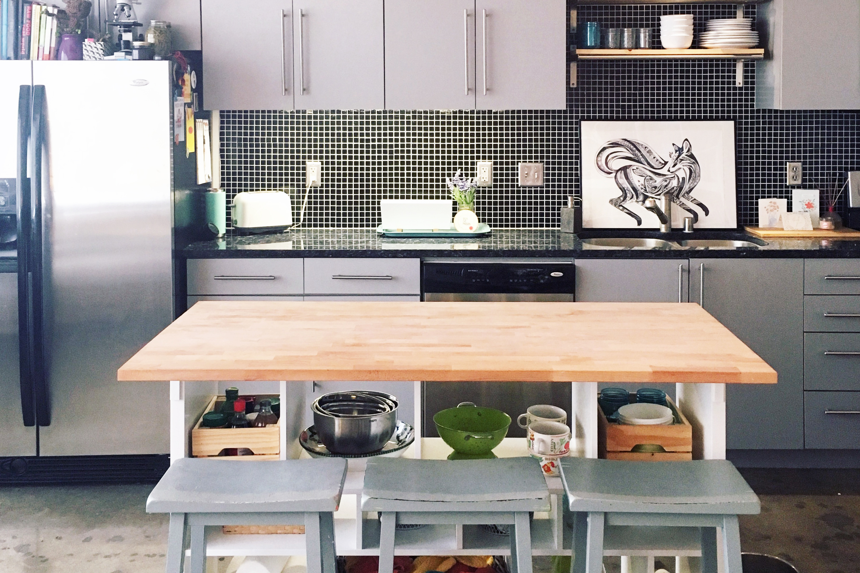 Strange Ikea Hack Kitchen Island Diy For 200 Apartment Therapy Dailytribune Chair Design For Home Dailytribuneorg