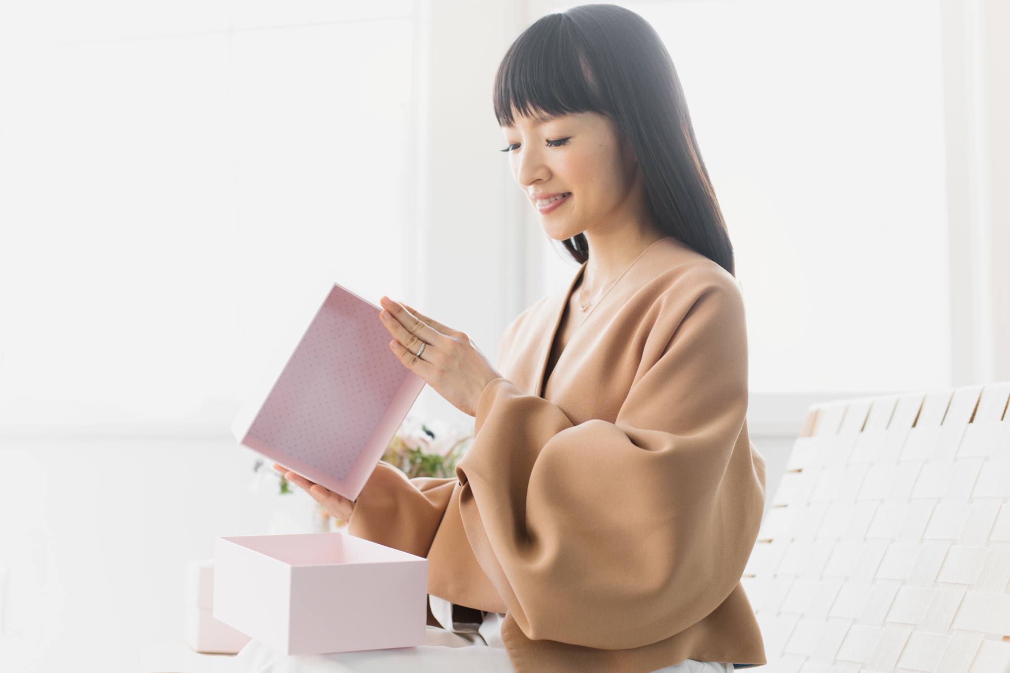 Marie Kondo Showed Us How Her New Organizing Boxes Work