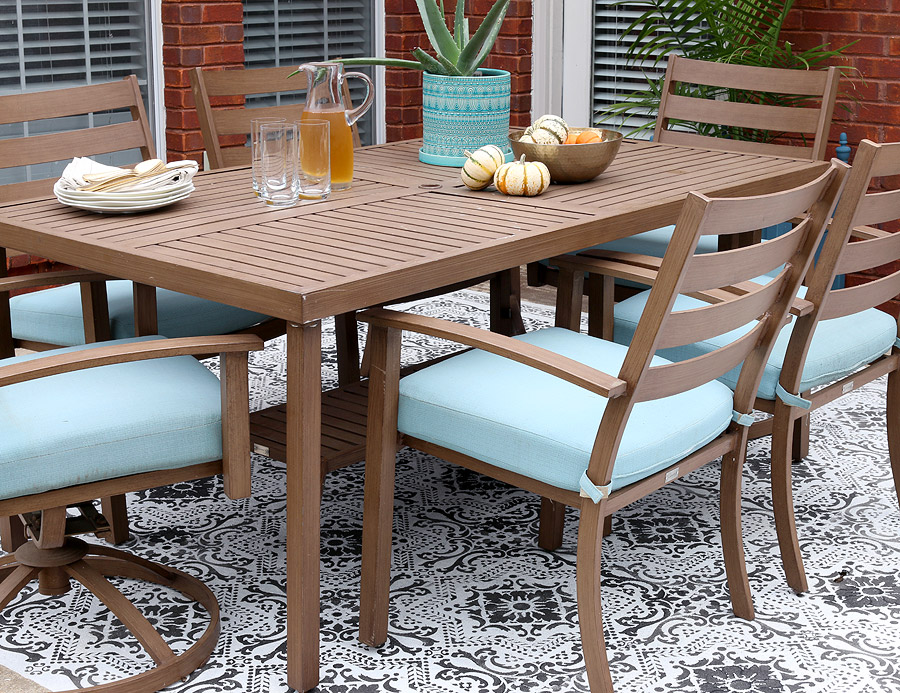 These 10 Patios Will Make You Want To Paint Your Floors Apartment Therapy